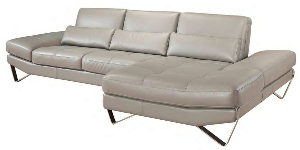 J&M Furniture 833 Italian Leather Sectional