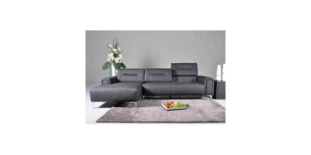 J&M Furniture 5137 Leather Sectional