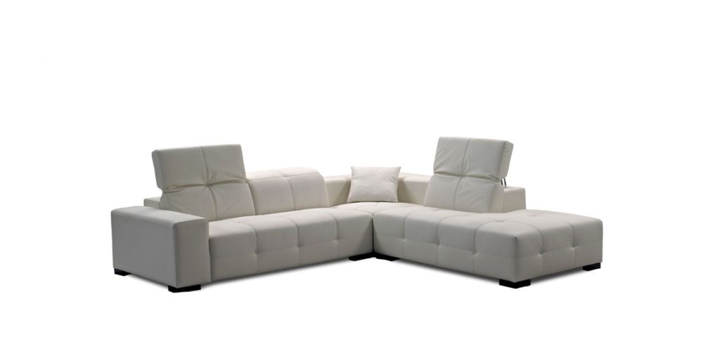 J&M Furniture London Leather Sectional
