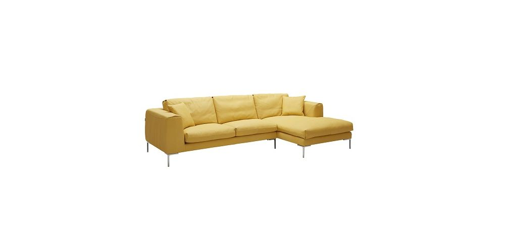 J&M Furniture Soleil Premium Leather Sectional