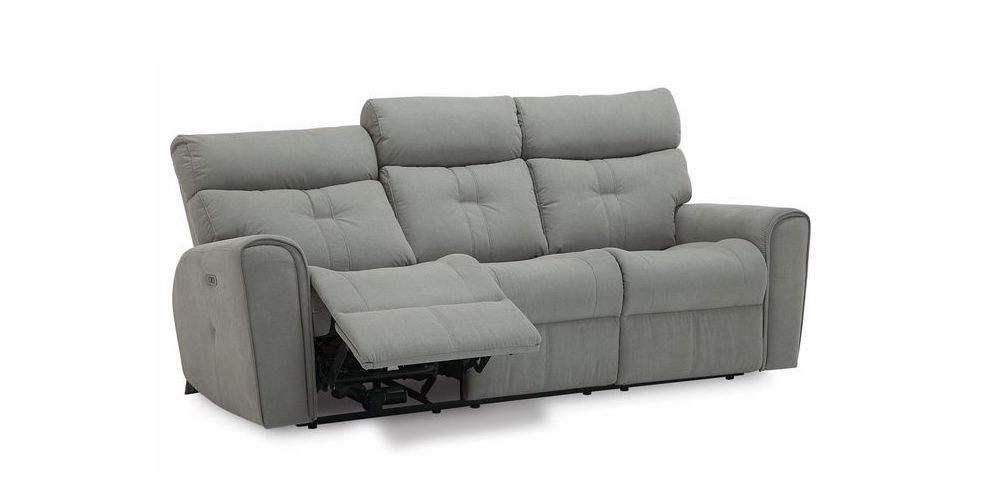 Palliser Acacia Leather Reclining Sofa
