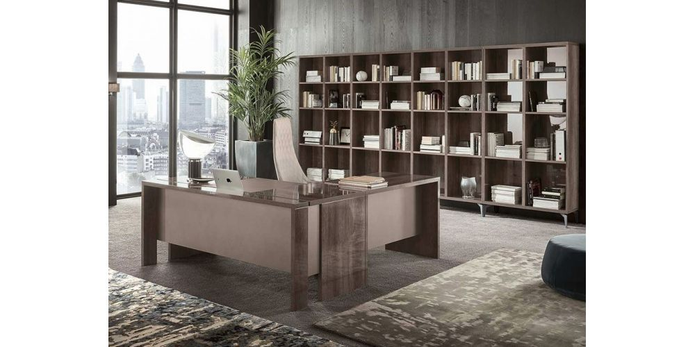 "ALF Matera Office 71"" Desk w/ return"