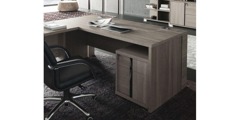 ALF Tivoli Office Desk w/ file cabinet