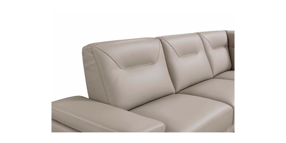 Incanto I826 Leather Sectional