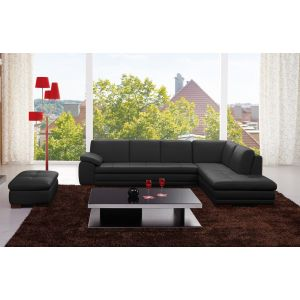 J&M Furniture 625 Italian Leather Sectional
