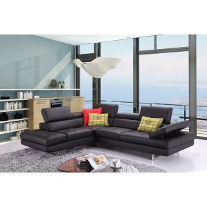 J&M Furniture A761 Italian Leather Sectional