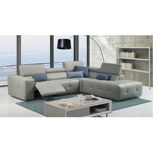 J&M Furniture S300 Premium Leather Sectional