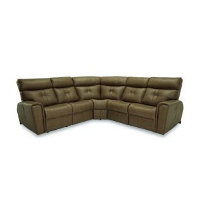 Palliser Acacia Leather Sectional