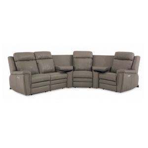 Palliser Asher Leather Sectional