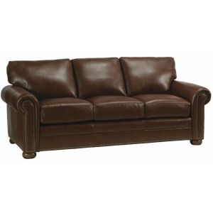 Omnia Leather Green Valley Leather Athens Sofa