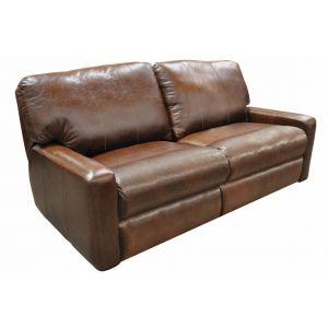 Omnia Leather Atlantic Reclining Sofa