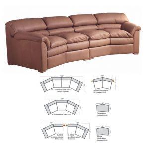 Omnia Leather Canyon Sofa
