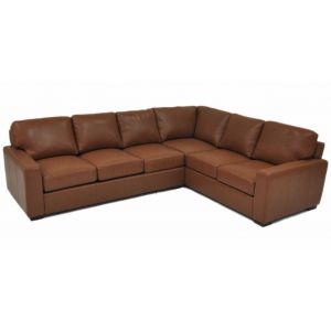 Omnia Leather City Craft Sectional