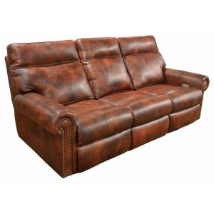 Omnia Leather Coleman Reclining Sofa