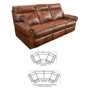 Omnia Leather Coleman Conversation Sofa