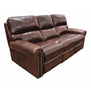 Omnia Leather Connor Reclining Sofa