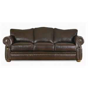Omnia Leather Green Valley Leather Laredo Sofa