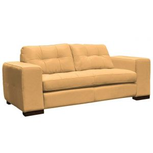 Omnia Leather Green Valley Peninsula Leather Sofa