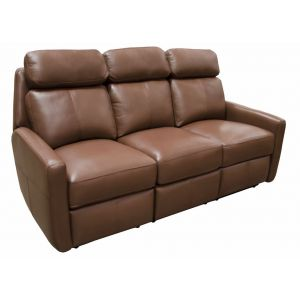 Omnia Leather Riverside Drive Reclining Sofa