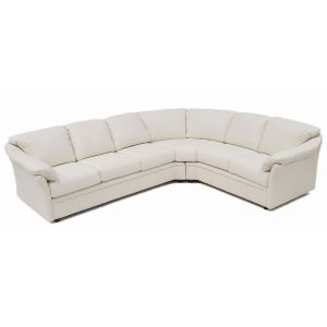 Green Valley Leather Salerno Sectional L-Shape Collection