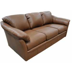 Omnia Leather Green Valley Leather Salerno Sofa