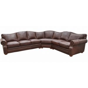 Green Valley Leather Tucson Sectional L-Shape Collection