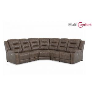 Palliser Leighton Leather Sectional