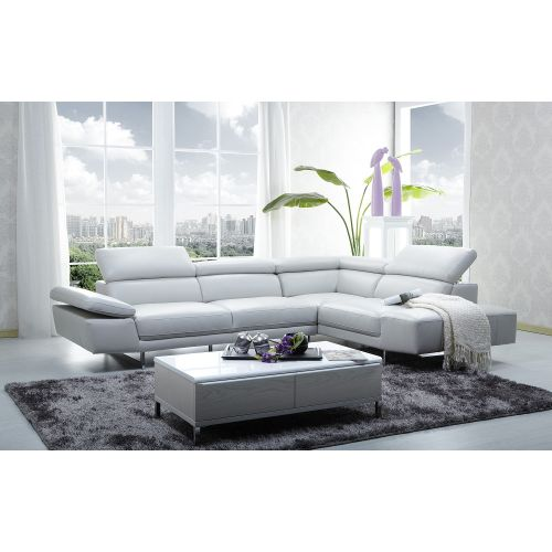 J&M Furniture 1717 Premium Leather Sectional