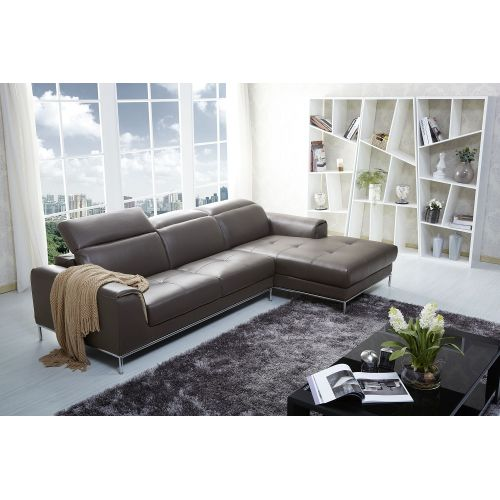 J&M Furniture 1727 Premium Leather Sectional