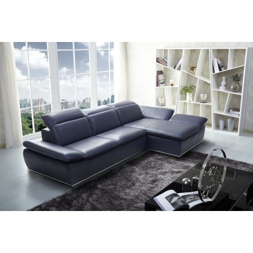J&M Furniture 1799 Premium Leather Sectional