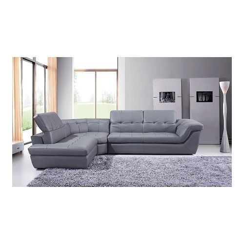 J&M Furniture 397 Italian Leather Sectional