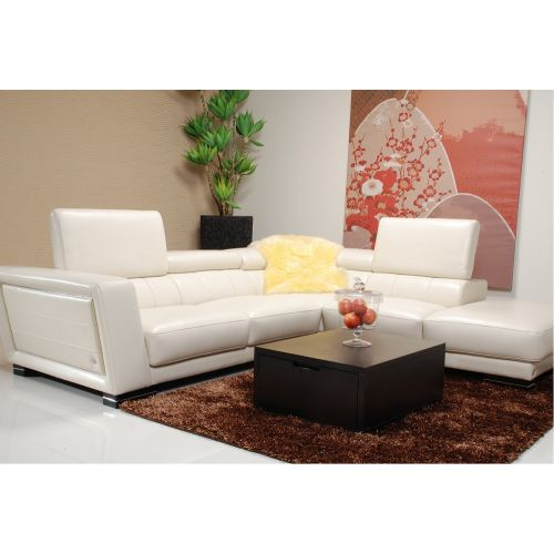 J&M Furniture 5166 Leather Sectional