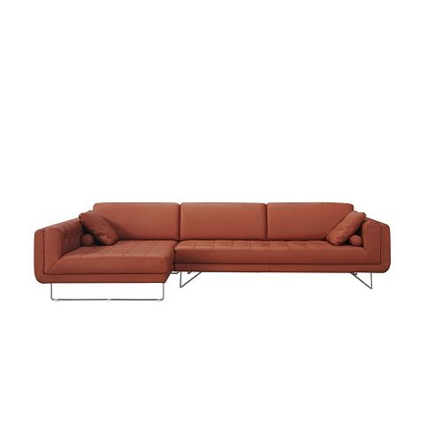J&M Furniture Hampton Premium Leather Sectional