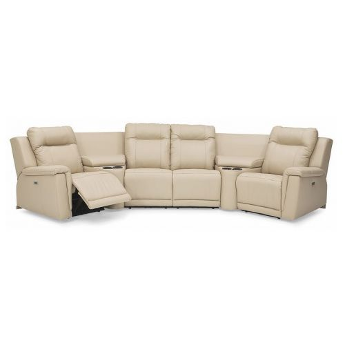 Palliser Riley Leather Sectional